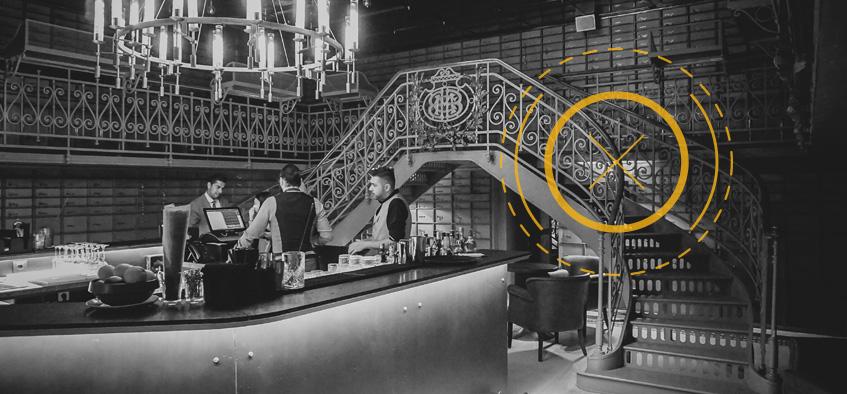 Seiful băncii Marmorosch-Blank a devenit cel mai inedit bar din București